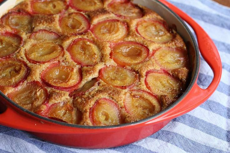 Plum and hazelnut brown butter cake | Cakes to make | Pinterest