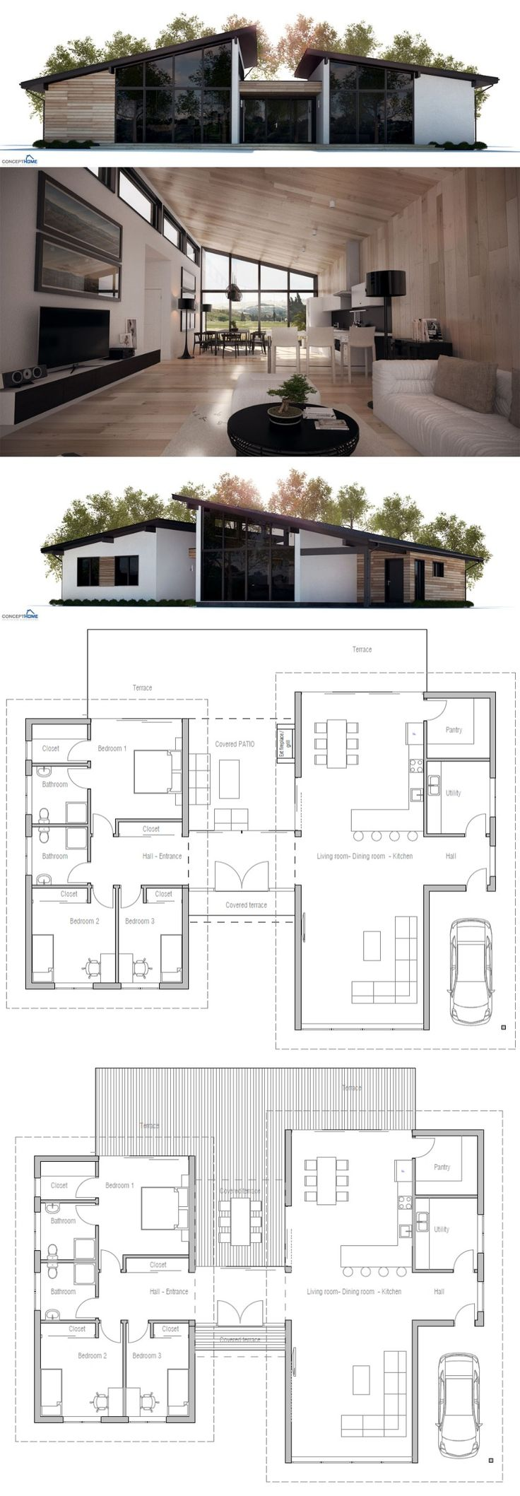 1000+ ideas about Bungalow Bauen on Pinterest Haustypen ... size: 736 x 2117 post ID: 8 File size: 0 B