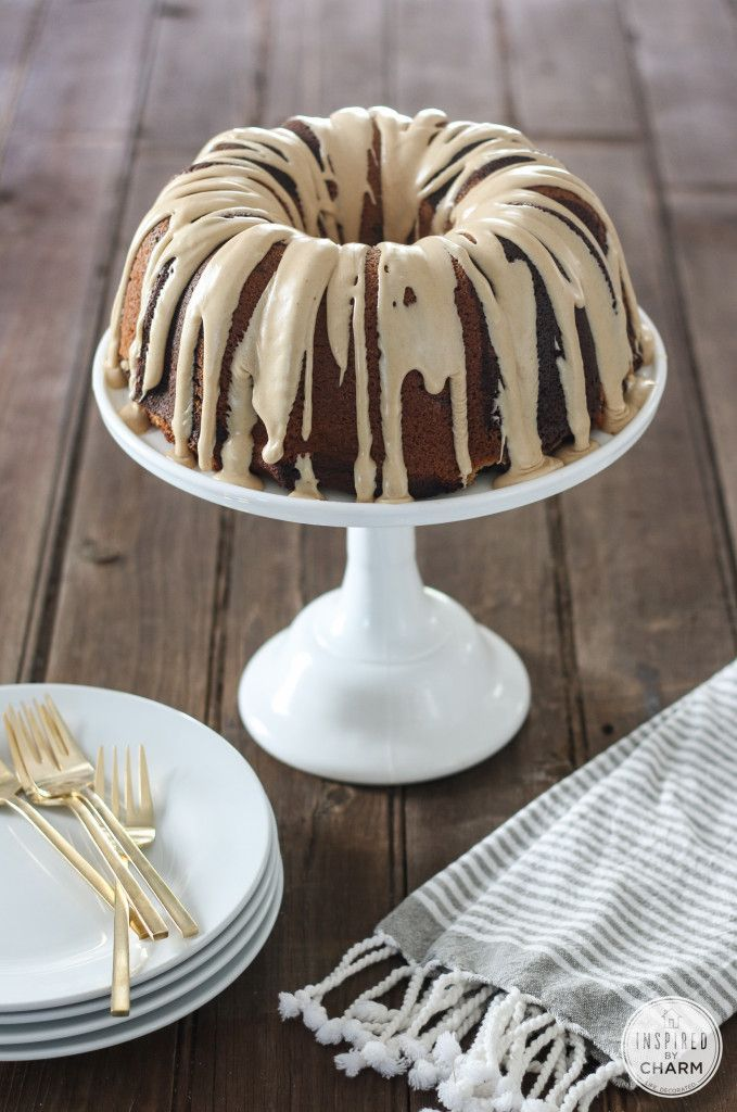 Chocolate – Peanut Butter Cake via Inspired by Charm