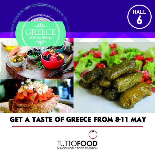 If you want to taste the authentic Greek flavors, don't miss #TUTTOFOOD2017: a lot of greek companies are waiting for you to give you a little piece of Greece