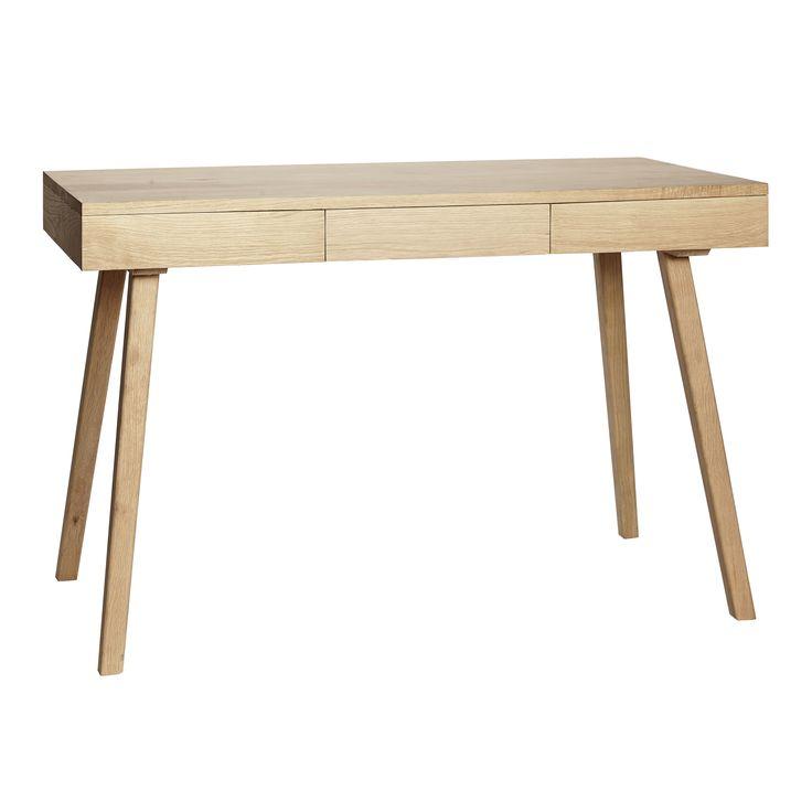 Oak desk. Product number: 889004 - Designed by Hübsch