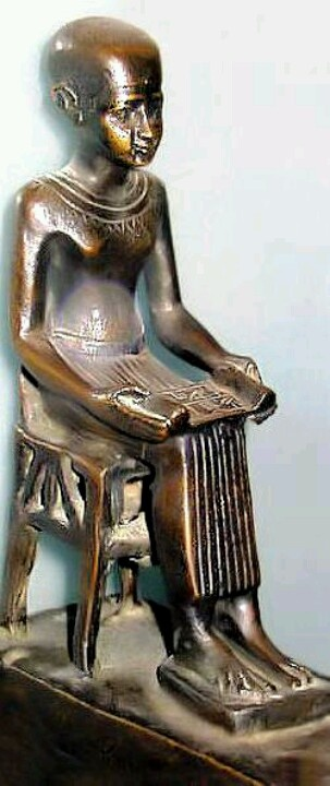 1000 images about black kings on pinterest statue of for Imhotep architecte