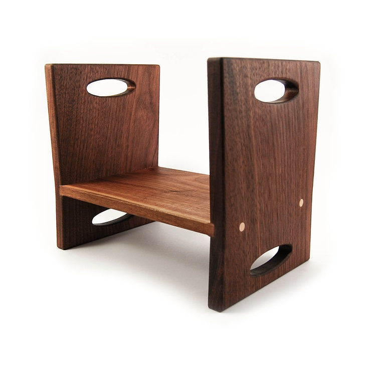 modern kids step stool walnut double sided wooden stool with carrying handles. $60.00  sc 1 st  Pinterest & Best 25+ Modern kids step stools ideas on Pinterest | Modern kids ... islam-shia.org
