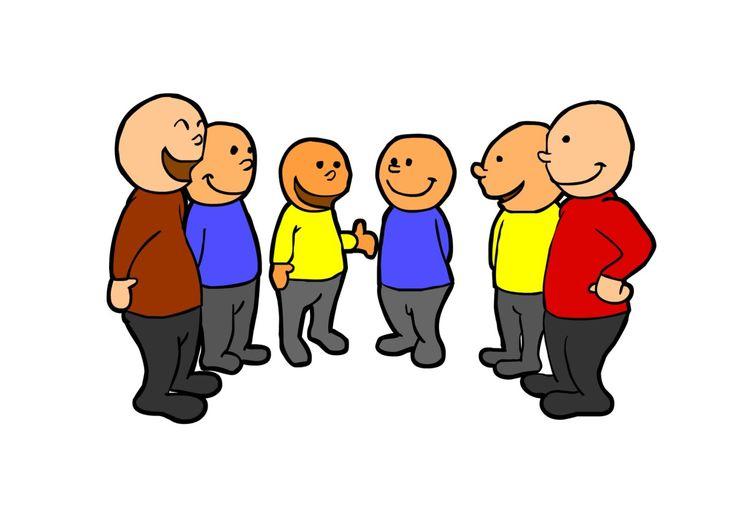 """DAT DELEN WE De lkr. maakt groepjes van 3-5 lln. Ieder groepje heeft 2-4 minuten de tijd om zoveel mogelijk overeenkomsten te vinden. Na afloop presenteert elke groep zijn resultaten aan de anderen. De winnaar is de groep met de meeste overeenkomsten.  VB1: De lln. zoeken overeenkomsten in hun omgeving zoals broers, zussen, huisdieren, ... VB2: De lln. geven overeenkomsten over hun werk zoals: """"Ik kan een handstand."""" """"Ik een koprol."""" """"Ik een radslag."""" BRON…"""