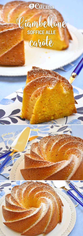 Il #ciambellone soffice alle #carote si rifà alla classica torta Camilla ed alle omonime merendine amate da tutti i bambini. Ecco la #videoricetta per realizzarla in casa con le vostre mani