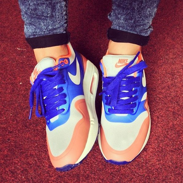 Womens Nike Air Max 1 Hyper-fuse. It is on hot sale. #2014airmaxstores #nikeshoes