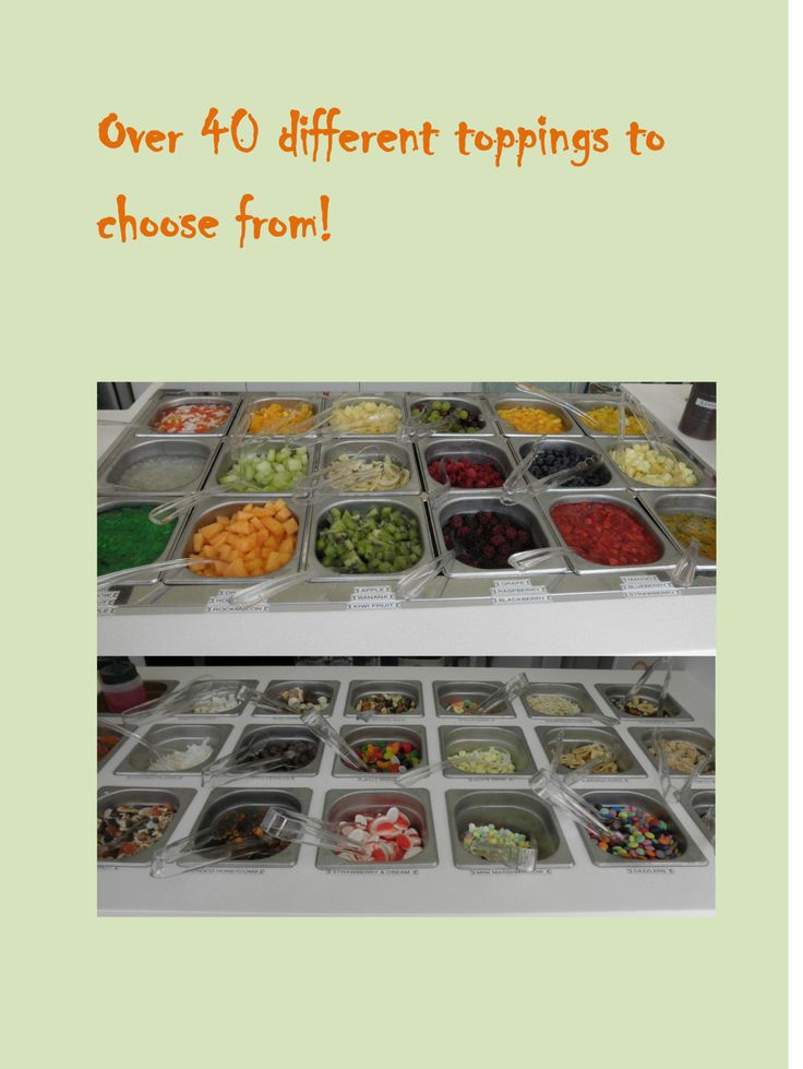frozen yogurt toppings Fro-yo Shop 39, 58 SOUTHSIDE DRV, HILLARYS, Perth, Western Australia 6025