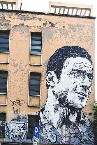 Rome street Art ♠ Francesco Totti ♥ | Flickr - Photo Sharing!