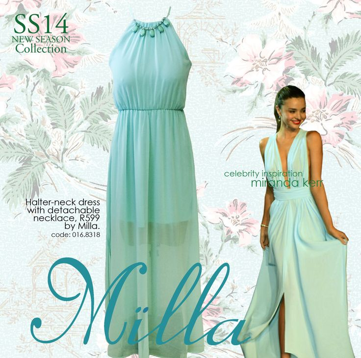 Mint beauty by Milla, R599 at YDE stores now! SS14 collection #DLstyle Follow us on instagram at @dlbrands.