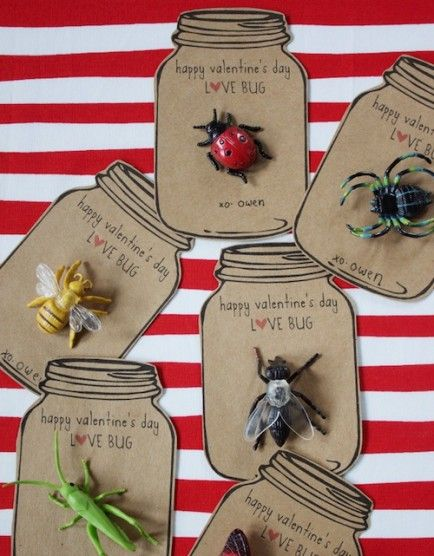 Happy Valentine's Day, Love Bug!  |  Click for printable, plus 20 other DIY Valentine Ideas.