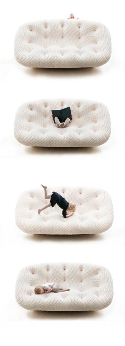 Ploum Sofa, Design. Ronan & Erwan Bouroullec Producer. Ligne Roset 2011