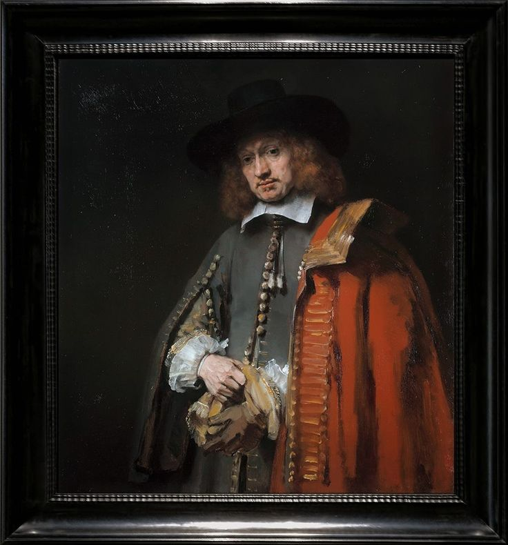 ...Last Great Late Rembrandt in Private Hands - Portrait of Jan Six (still with the Six Family ) (894×960)