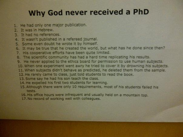 Can you get a Ph.D. in?