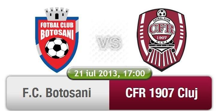 Pont FC Botosani vs CFR Cluj (21.07.2013)