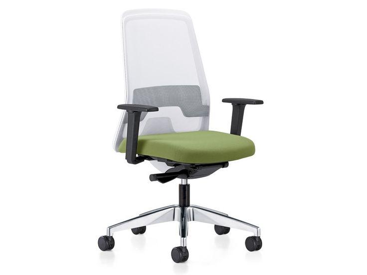 Bürodrehstuhl weiß Interstuhl EVERYis1 182E
