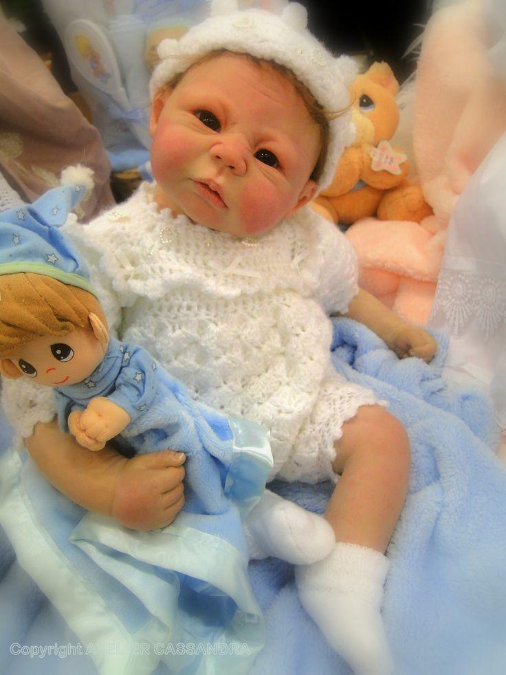 Reborn baby girl.