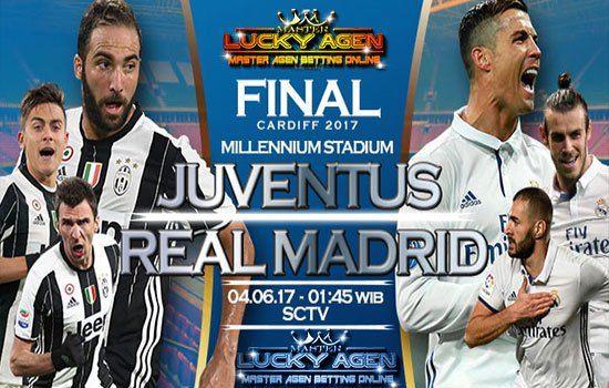 Prediksi Bola Akurat Juventus vs Real Madrid 04 Juni 2017