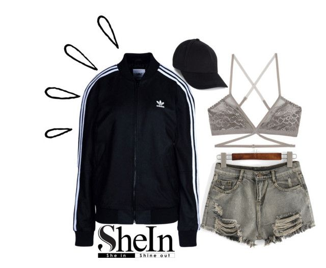 """""""Untitled #171"""" by chicclo on Polyvore featuring WithChic, adidas Originals, Lonely and Old Navy"""
