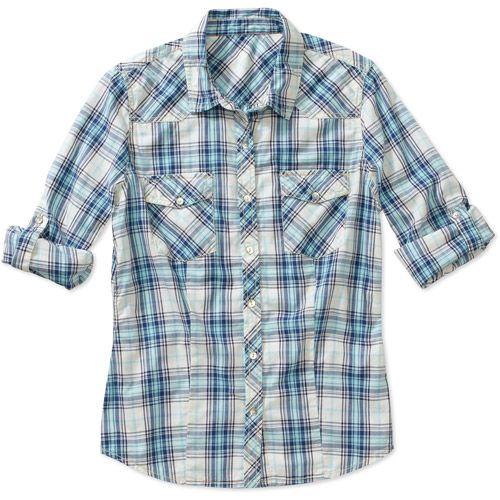 Levis Western Shirt Womens