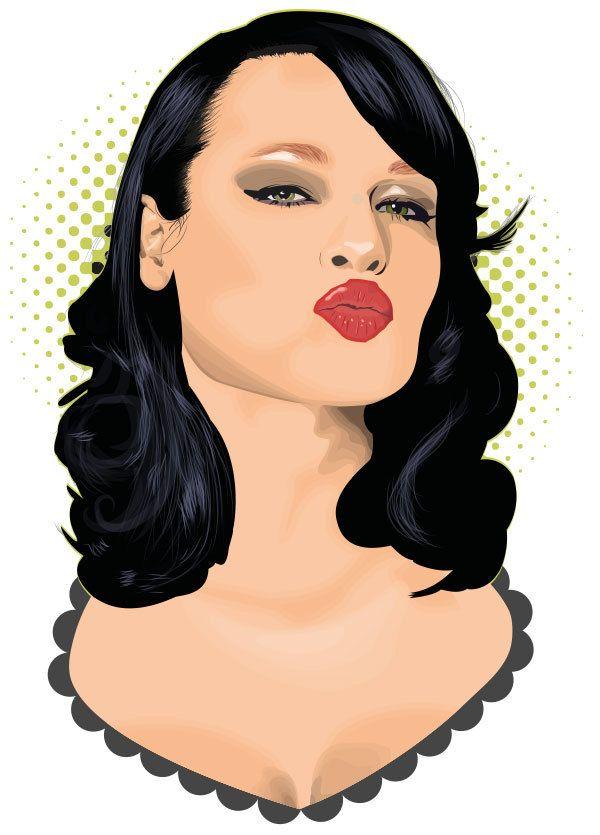 An Lemmens Portrait By Randy Verschueren Via Behance  C B Pretty Woman