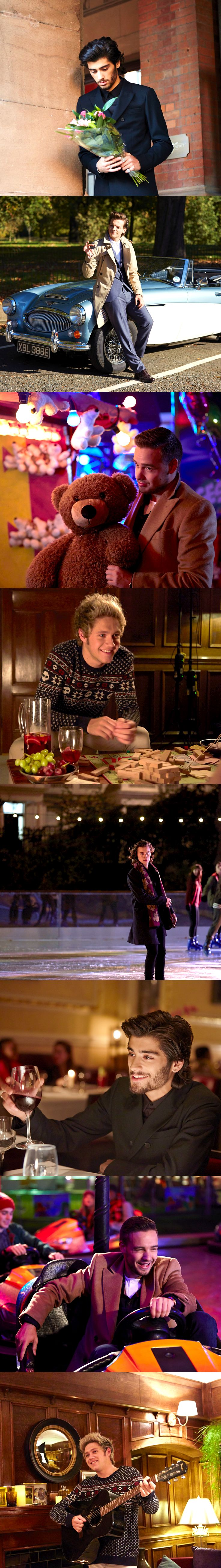 One Direction Night Changes collage. Niall Horan / Liam Payne / Harry Styles / Louis Tomlinson / Zayn Malik / One Direction