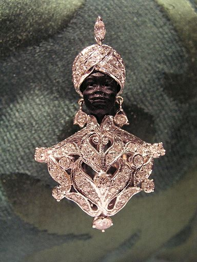 Image result for venetian blackamoor jewelry with jewels