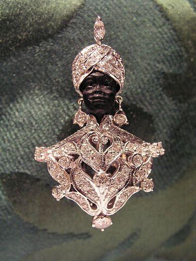 Image result for venetian blackamoor jewelry with jewels
