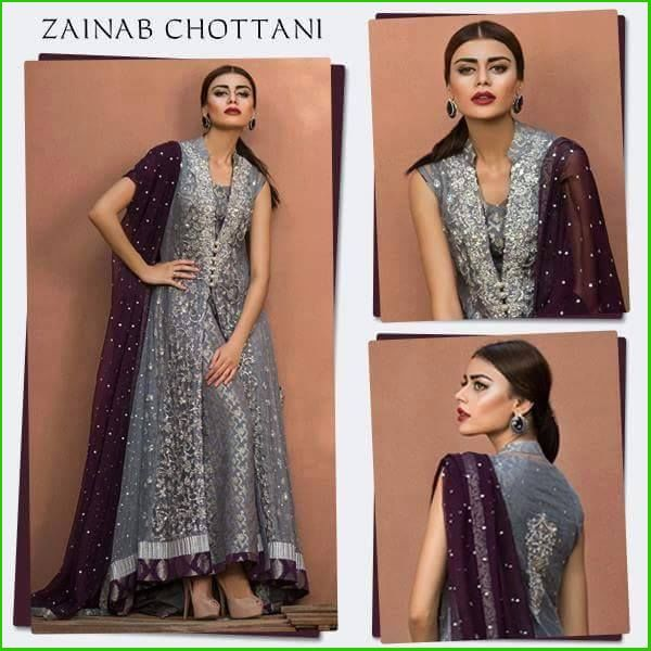 Zainab Chottani Luxury Pret & Formal Dresses 2016-2017 Collection | StylesGap.com