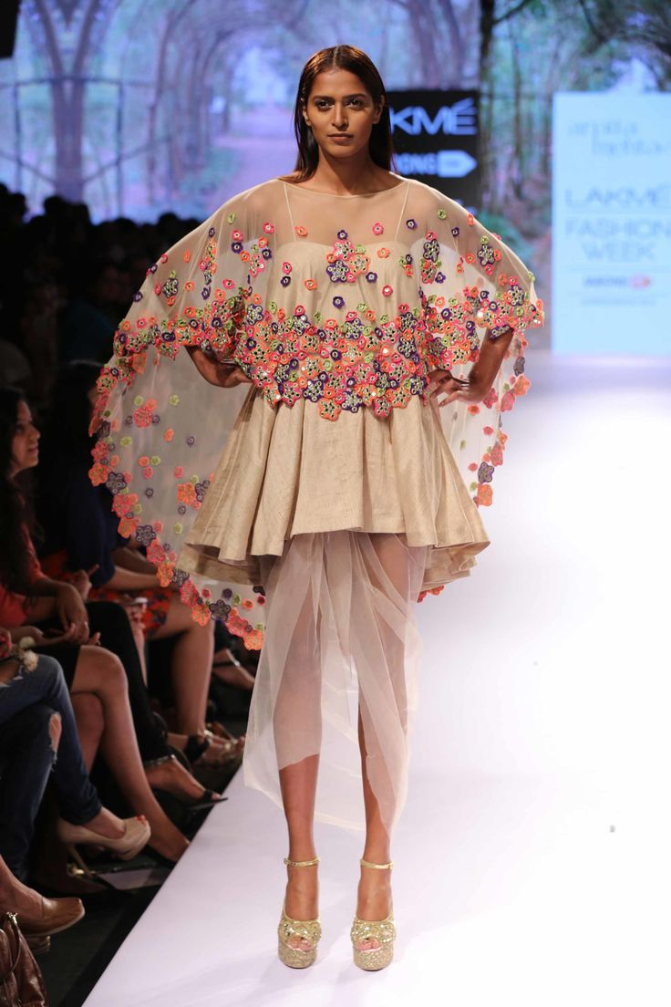 Arpita Mehta - Lakme Fashion Week Summer/Resort 2015 #peekaboo