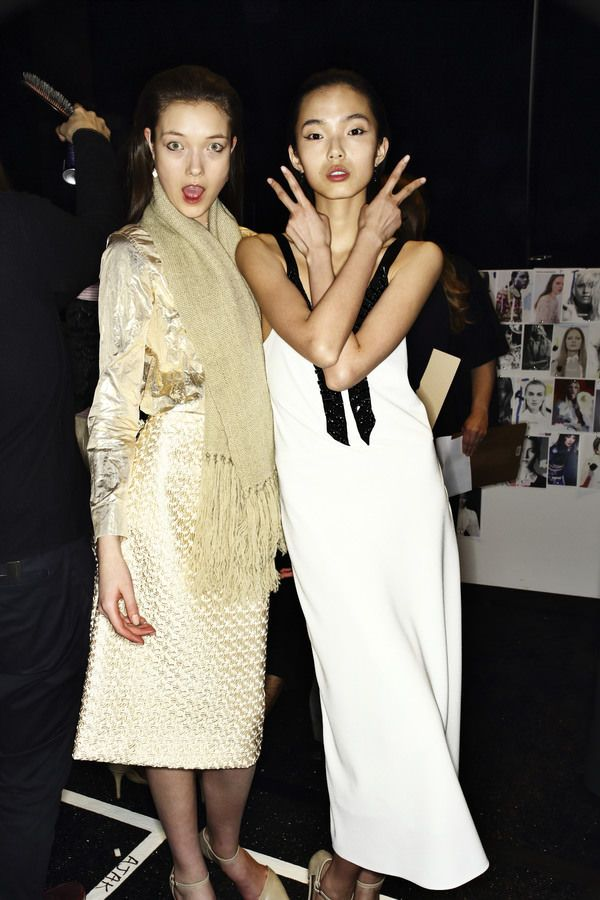 Tome Fashion Show, more backstage pics here http://sonnyphotos.com/2014/02/tome-aw14-15-fashion-show-new-york-backstage