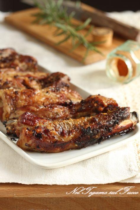 costine di maiale agli aromi