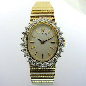 ROLEX occasion - Montre vintage en or. .http://www.bijoux-bijouterie.com/ #montre #vintage