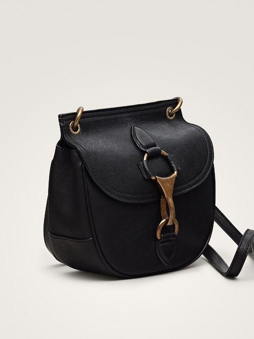 a4b129d1039d Черная кожаная сумка с застежкой-карабином в 2019 г. | Носибельно ...