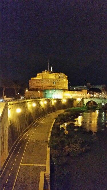 Vieuw to the Castel Sant'Angelo