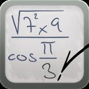 "MyScript Calculator. ""perform mathematical operations naturally using your handwriting."""