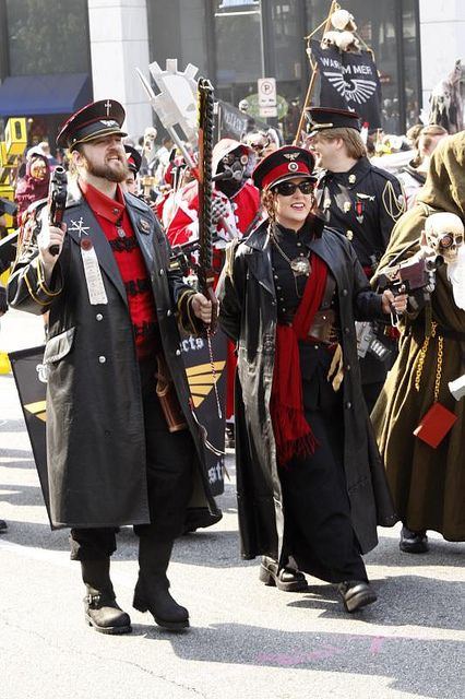 Warhammer 40K - DragonCon Parade 2011 077 by Hueyatl, via Flickr