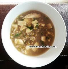 Resep Mudah Praktis Sup Kacang Hijau Ayam ~ Resep Inova Melisa