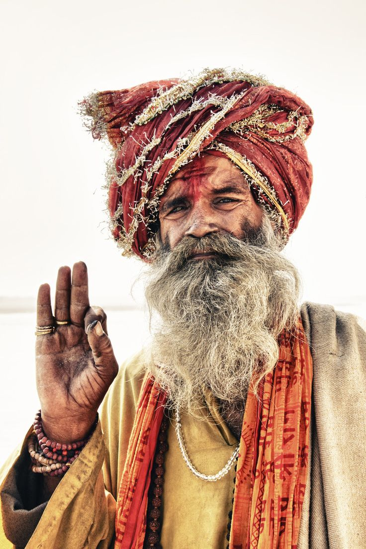 Arresting Sadhus Portrait Photography Religious Photography: Sadhu In Varanasi, India