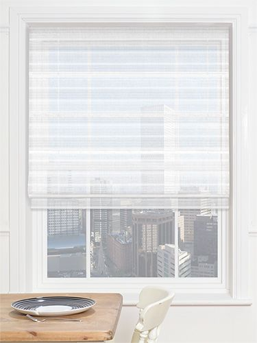 Liberty Voile Stripe Roman Blind from Blinds 2go