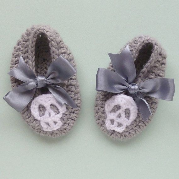 Halloween baby slippers - and for the little girls