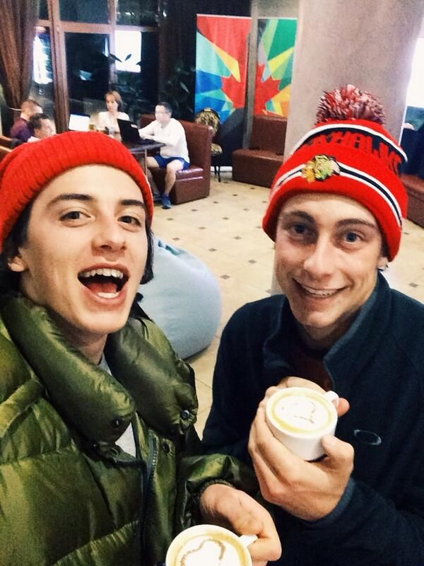 How awesome are Mark and Craig McMorris? #TeamCanada #WeAreWinter
