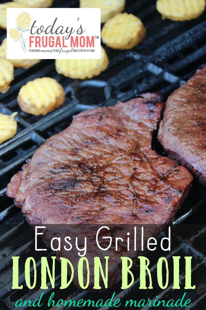 Easy Grilled London Broil