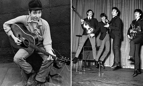 When Dylan met the Beatles – history in a handshake?