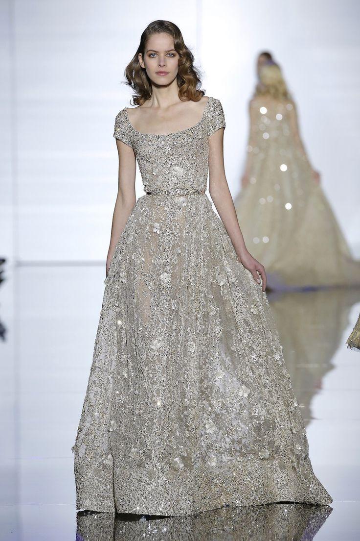 Zuhair Murad Woman Embroidered Point Desprit Silk-blend Gown Emerald Size 42 Zuhair Murad mCj3eo