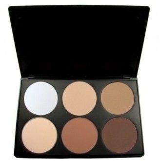 Paleta de Blush + Contorno + Iluminador - 6 cores <3 Confira na loja : www.violettshop.iluria.com  Frete Grátis para todo Brasil