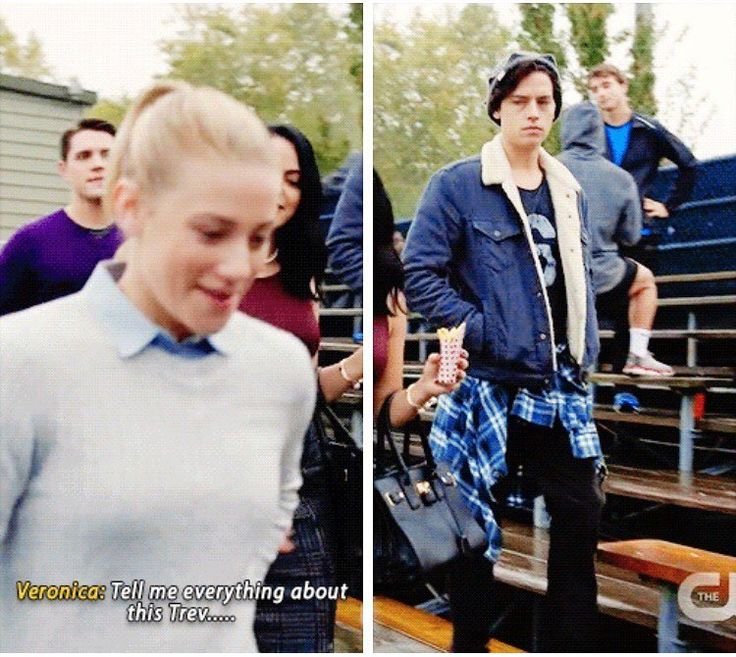 Riverdale - he look so mad and jealous I love him Bughead forever