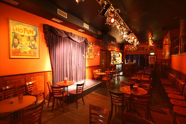 Comedy Café Amsterdam, a cafe for stand-up-comedy in Amsterdam (max euweplein 43-45) http://www.comedycafe.nl/