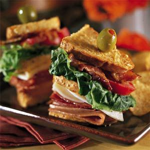 Dreamy Italian Club Sandwich Recipe