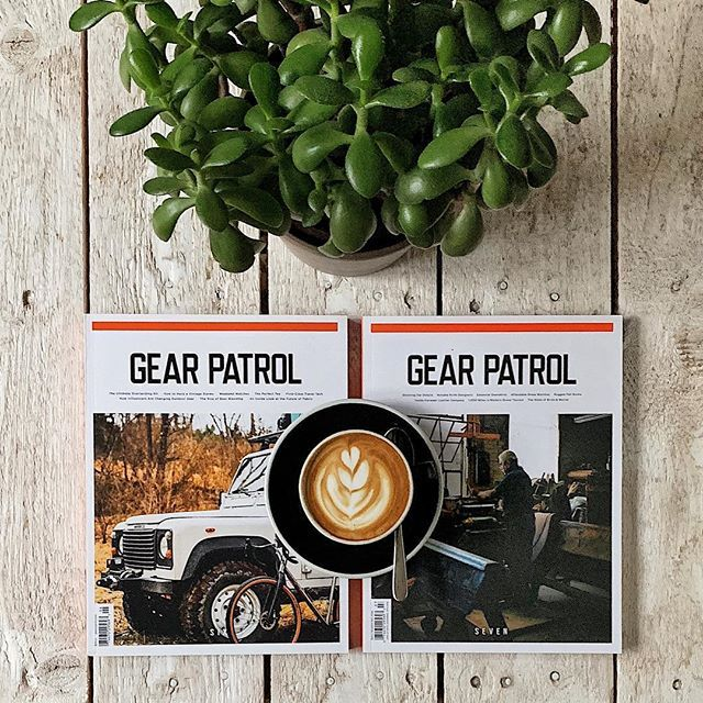 Good morning Tuesday! Say hello to the latest two issues of Gear Patrol Magazine (@gearpatrol); the fantastic publication for men who are seeking inspiration for a life well lived. While in issue six the thread of courageous products or people behind those products runs through many of its stories issue seven is a celebration of style and design. Both issues are now available in our online shop (touch the picture for a link)!  #gearpatrol #gearpatrolmagazine #gearporn #gadgets #mensmagazine #mensstyle #menstyle #cars #design #style #coffeetablemags #magazineshop #hamburg