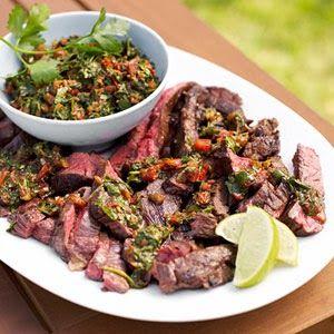 gaucho steak with 4-herb chimichurri | Quick Recipes & Kitchen Tips